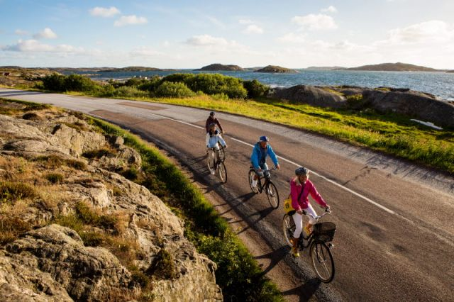 Västkustleden – en turistisk cykelled från Göteborg till Oslo