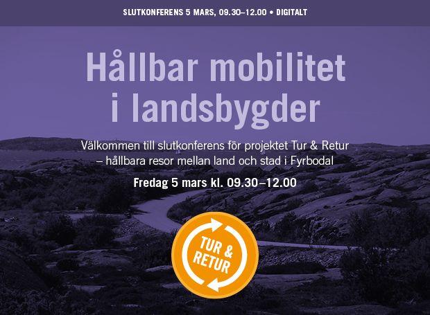 Slutkonferens. Hållbar mobilitet i landsbygder