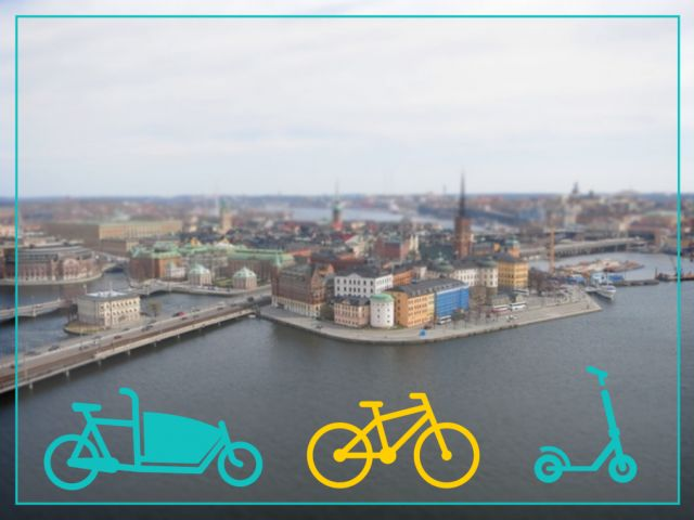 Mikromobilitet och cykelns roll och möjligheter i framtidens Stockholm