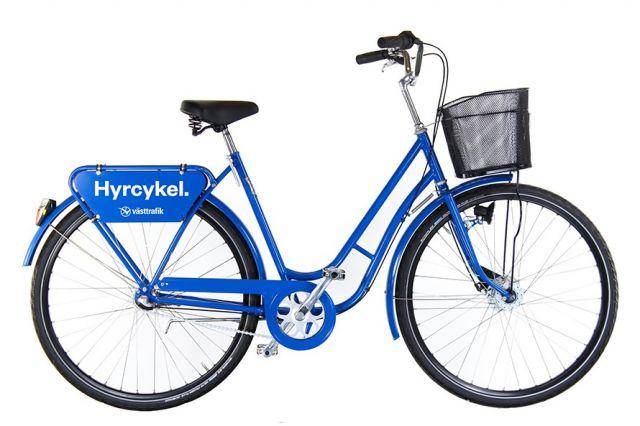Kombinerad mobilitet – hyrcyklar och kollektivtrafik