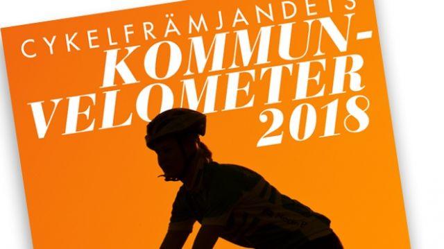 Cykelfrämjandets Kommunvelometer 2018: Uppsala arbetar bäst för ökad cykling