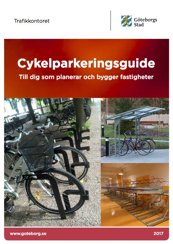 Cykelparkeringsguider Trafikkontoret Göteborg